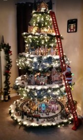 Favorite Winter Tree Display Design Ideas For Small Spaces13