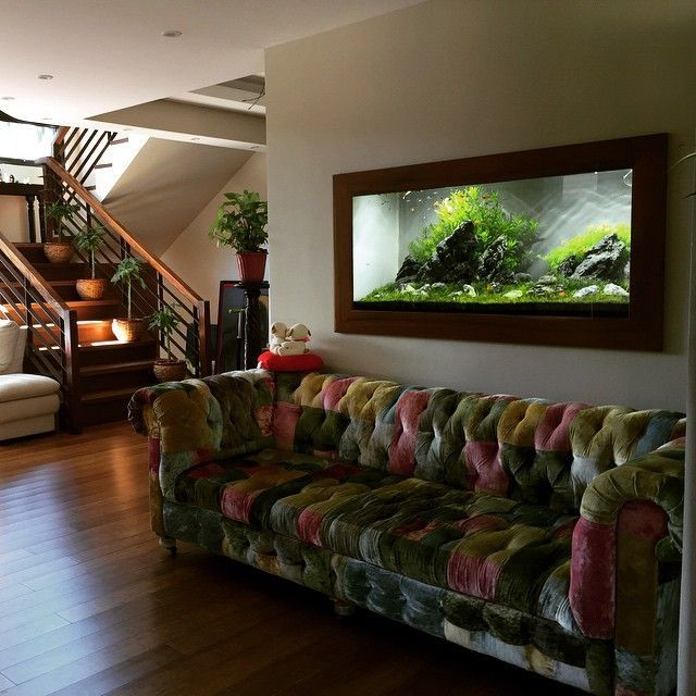 Glamorous Aquariums Design Ideas For Cool Interior Styles To Have05