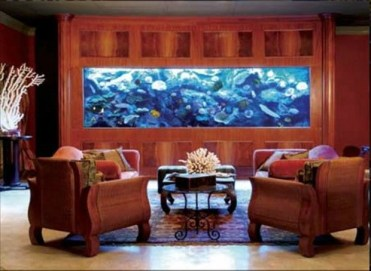 Glamorous Aquariums Design Ideas For Cool Interior Styles To Have12