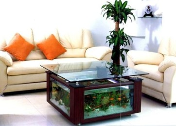 Glamorous Aquariums Design Ideas For Cool Interior Styles To Have21