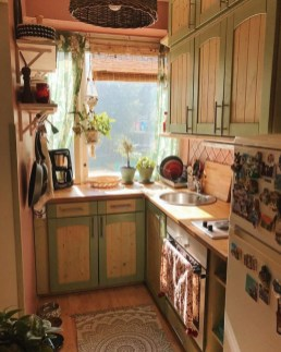 Glamorous Small Kitchen Design Ideas That Can Saving Your Space04