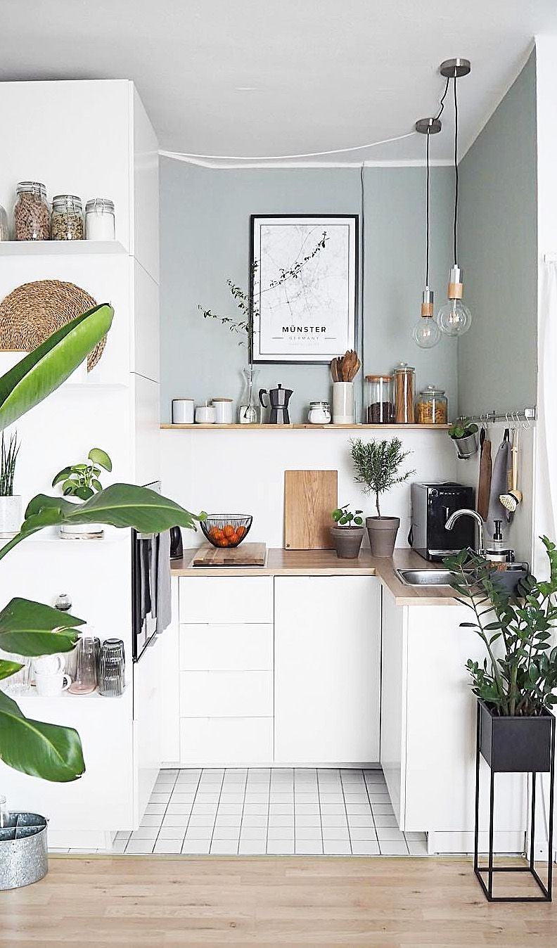 Glamorous Small Kitchen Design Ideas That Can Saving Your Space14