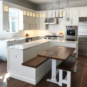 Glamorous Small Kitchen Design Ideas That Can Saving Your Space19