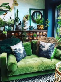 Inexpensive Green Room Designs Ideas On A Budget04