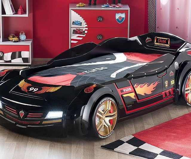 Luxury Kids Bedroom Design Ideas With Car Shaped Beds11
