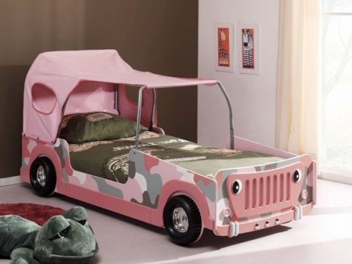 Luxury Kids Bedroom Design Ideas With Car Shaped Beds13