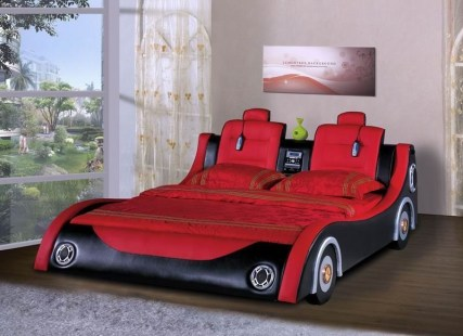Luxury Kids Bedroom Design Ideas With Car Shaped Beds20