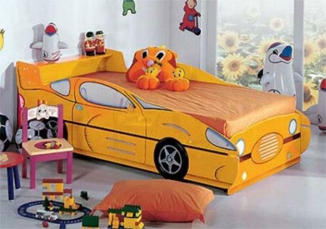 Luxury Kids Bedroom Design Ideas With Car Shaped Beds23