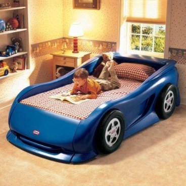 Luxury Kids Bedroom Design Ideas With Car Shaped Beds26