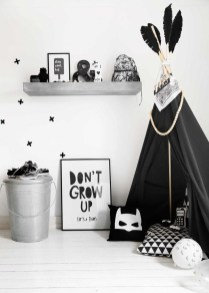 Marvelous Black And White Kids Room Design Ideas To Try This Month03