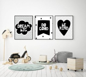 Marvelous Black And White Kids Room Design Ideas To Try This Month18
