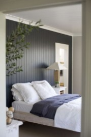 Newest Bedroom Design Ideas That Featuring With Wooden Panel Wall05