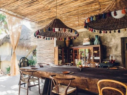Newest Outdoor Bohemian Dining Room Design Ideas To Try Right Now08