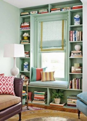 Superb Home Library And Book Storage Design Ideas To Have Asap26
