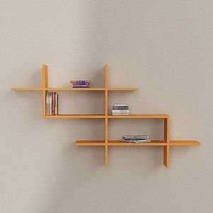 Trendy Plywood Bookshelf Design Ideas With Floating Effects To Try Asap04
