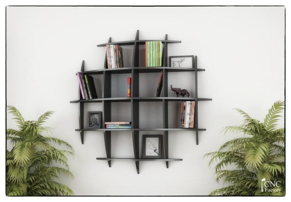 Trendy Plywood Bookshelf Design Ideas With Floating Effects To Try Asap23
