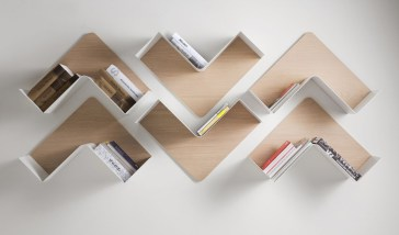 Trendy Plywood Bookshelf Design Ideas With Floating Effects To Try Asap35