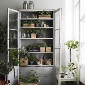 Unusual Indoor Garden Design Ideas With Scandinavian Style To Have22