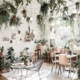 Unusual Indoor Garden Design Ideas With Scandinavian Style To Have28