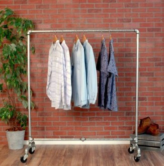 Unusual Industrial Pipe Rack Storage Design Ideas To Try Right Now09