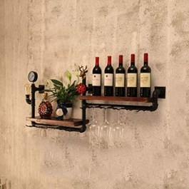 Unusual Industrial Pipe Rack Storage Design Ideas To Try Right Now13