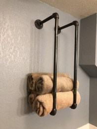 Unusual Industrial Pipe Rack Storage Design Ideas To Try Right Now19