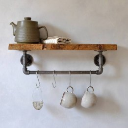Unusual Industrial Pipe Rack Storage Design Ideas To Try Right Now22