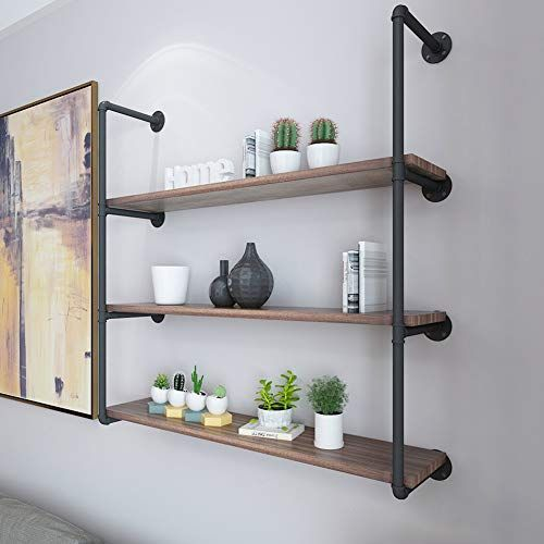 Unusual Industrial Pipe Rack Storage Design Ideas To Try Right Now23