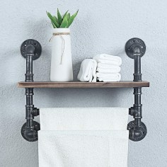 Unusual Industrial Pipe Rack Storage Design Ideas To Try Right Now26