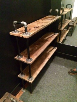 Unusual Industrial Pipe Rack Storage Design Ideas To Try Right Now33
