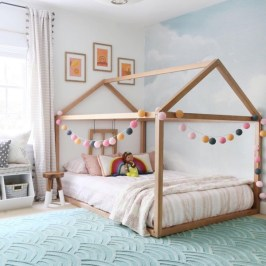 Wondeful Girls Room Design Ideas With Play Houses To Copy19