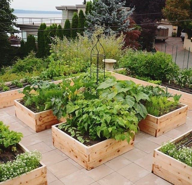 Adorable Rooftop Gardens Design Ideas That Looks Awesome27