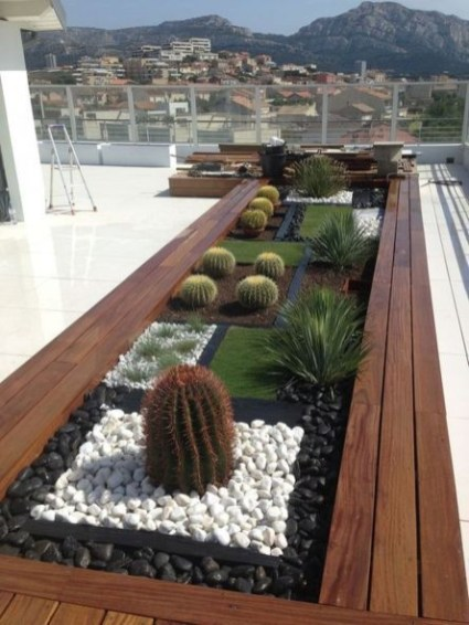 Adorable Rooftop Gardens Design Ideas That Looks Awesome29