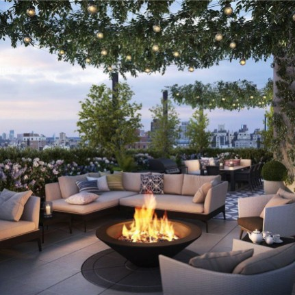 Adorable Rooftop Gardens Design Ideas That Looks Awesome30