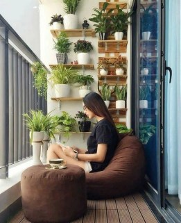 Affordable Small Balcony Design Ideas On A Budget11