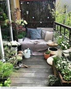 Affordable Small Balcony Design Ideas On A Budget32