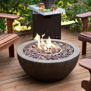 Best Patio Deck Design Ideas With Firepit To Make The Atmosphere Warmer16