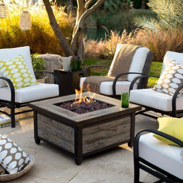 Best Patio Deck Design Ideas With Firepit To Make The Atmosphere Warmer29