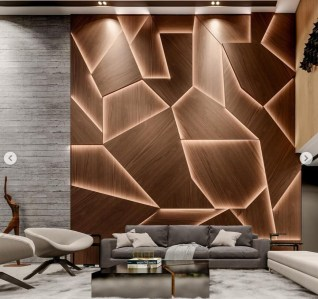 Brilliant Living Room Wood Ceiling Design Ideas That You Should Try24