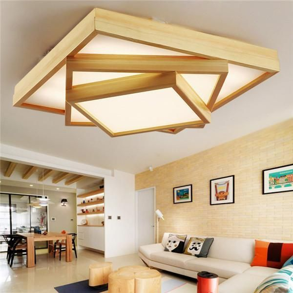 Brilliant Living Room Wood Ceiling Design Ideas That You Should Try36