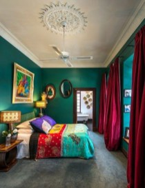 Captivating Colorful Bedroom Design Ideas That Looks So Lovely06