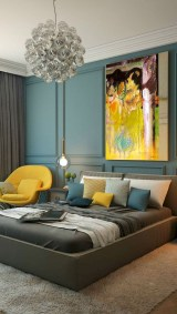 Captivating Colorful Bedroom Design Ideas That Looks So Lovely11
