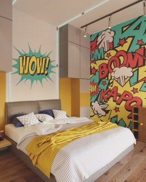 Captivating Colorful Bedroom Design Ideas That Looks So Lovely15