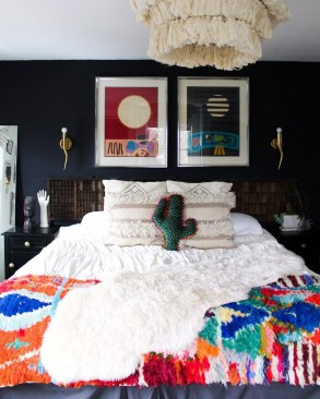 Captivating Colorful Bedroom Design Ideas That Looks So Lovely16