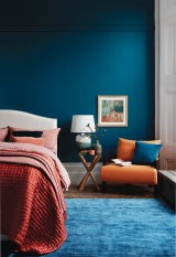 Captivating Colorful Bedroom Design Ideas That Looks So Lovely23