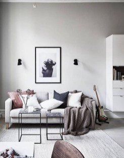 Charming Living Room Decoration Ideas With Minimalist Sofa To Try Asap25