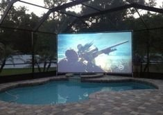 Chic Outdoor Home Theaters Design Ideas To Have Asap20