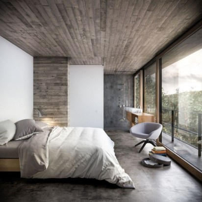 Fantastic Bedrooms Design Ideas With A View Of Nature20