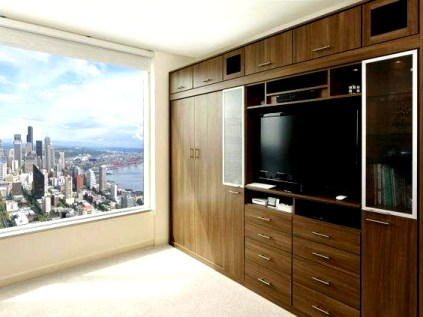 Incredible Diy Entertainment Center Design Ideas That Look More Comfort05