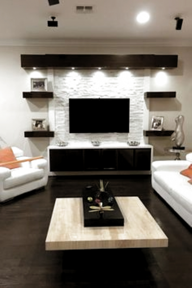 Incredible Diy Entertainment Center Design Ideas That Look More Comfort08